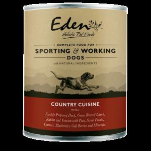 eden pet food dog country
