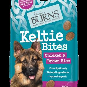 burns pet food keltie bites dog