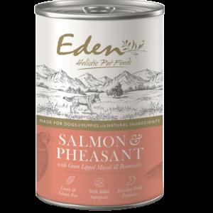 eden pet food dog salmon