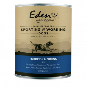 eden pet food dog turkey and herring