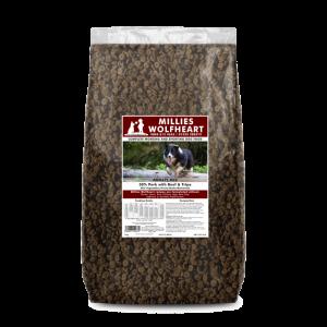 millies wolfheart dog food dry agility