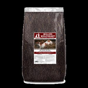 millies wolfheart dog food dry