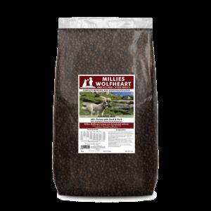 millies wolfheart dog food dry farmer