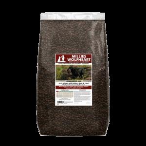 millies wolfheart dog food dry gamekeeper