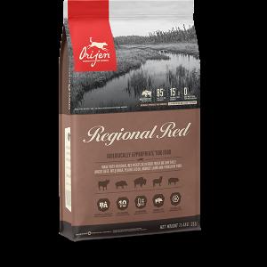 orijen pet food dog regional red