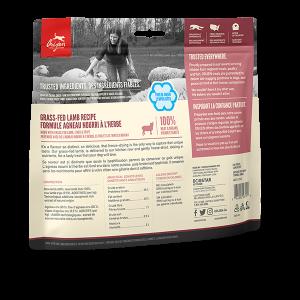 orijen pet food dog grass fed lamb treats