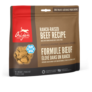 orijen pet food dog beef treats