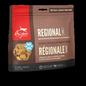 orijen pet food dog regional red treats