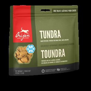 orijen pet food dog tundra treats