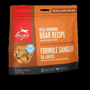 orijen pet food dog roaming boar treats