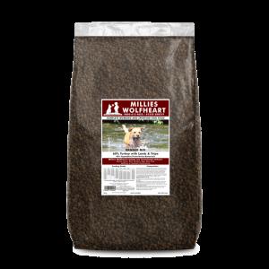 millies wolfheart dog food dry ranger