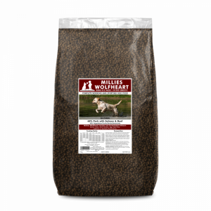 millies wolfheart dog food dry ultima