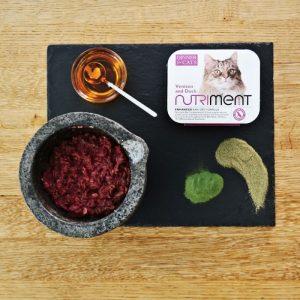 nutriment pet food cat venison duck