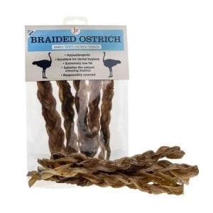 JR dog cat pet ostrich braided