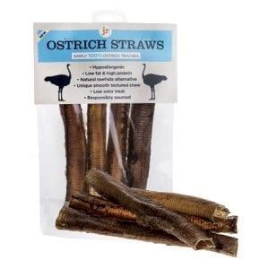 JR dog cat pet ostrich straws