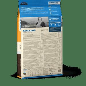 acana dog food pet adult heritage