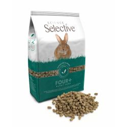 rabbit hare feeding food dry