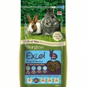 burgess food rabbits dry