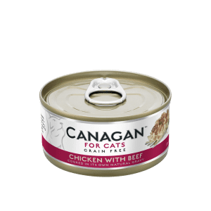 canagan food pet beef chicken cats