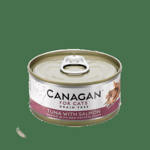 canagan food pet cats tuna salmon