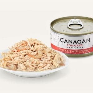 canagan food pet prawns cats chicken