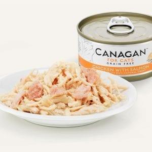 canagan food pet salmon cats chicken