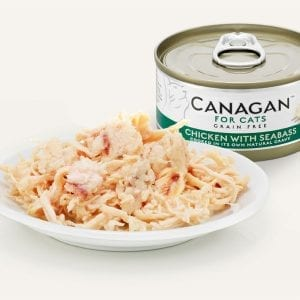 canagan food pet cats chicken seabass