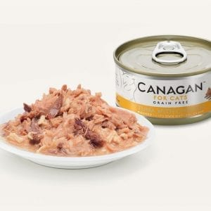 canagan food pet chicken cats tuna